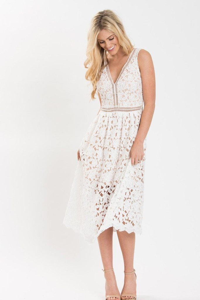 Lovely isabella White Lace Crochet Midi Dress Morning Lavender Lace Crochet Dress Of Incredible 42 Photos Lace Crochet Dress