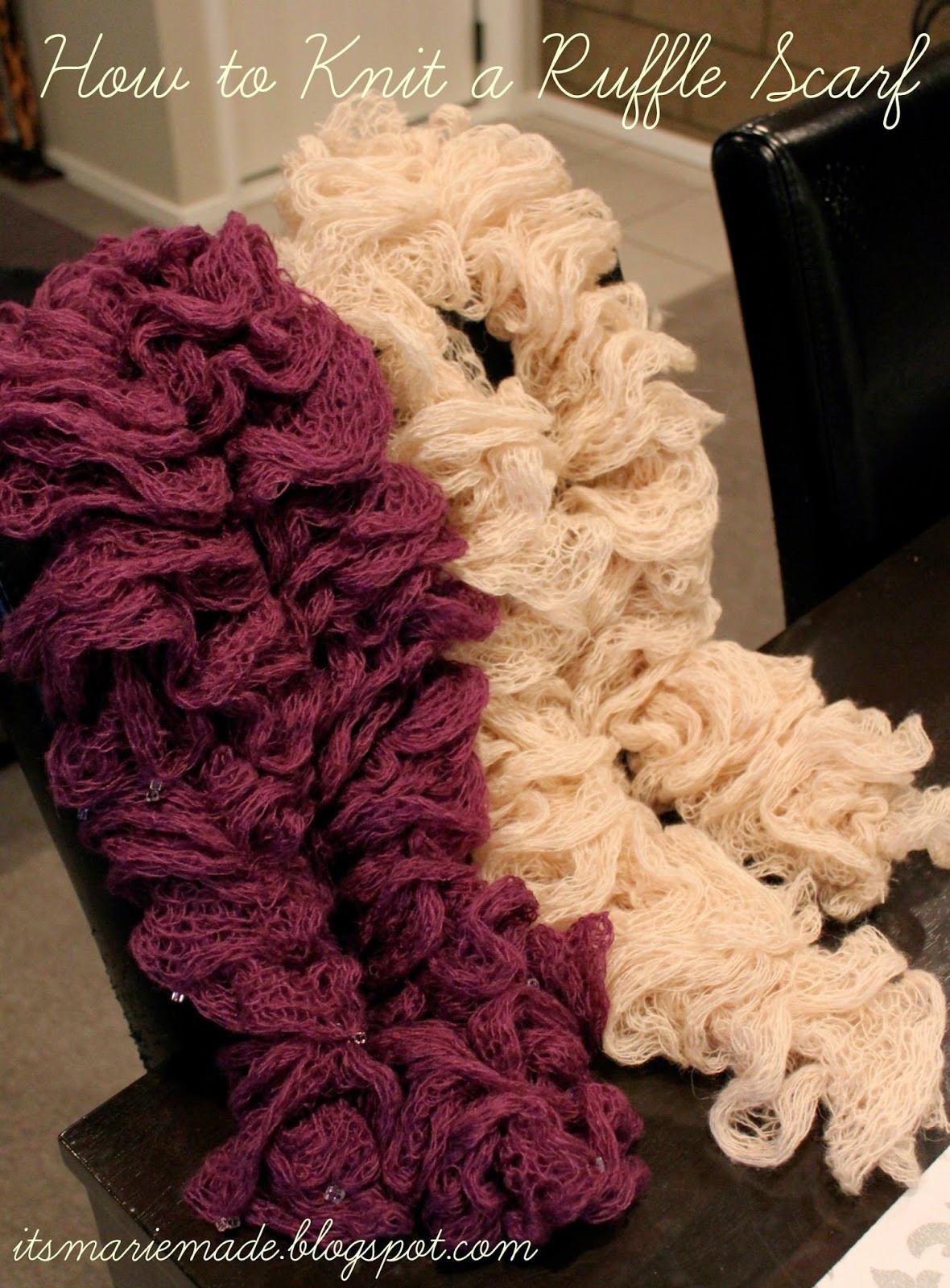 Lovely It S Marie Made How to Make A Ruffle Scarf with Mesh Yarn Ruffle Scarf Yarn Of Beautiful 47 Images Ruffle Scarf Yarn
