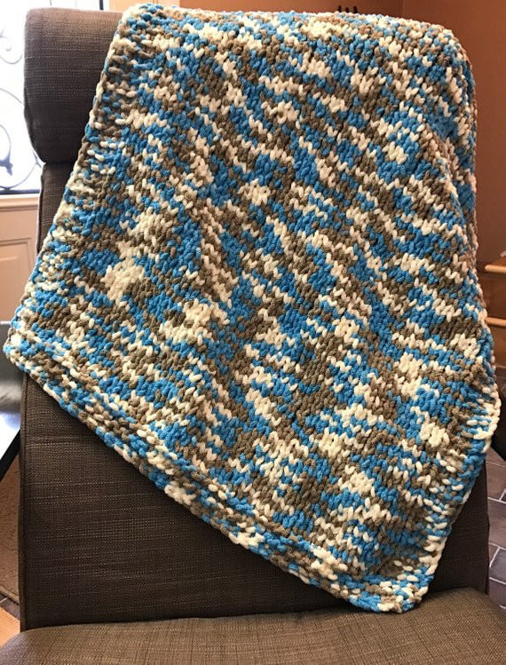 Lovely Items Similar to Hand Knit Chunky Baby Blanket Bernat Bernat Chunky Blanket Yarn Of Fresh 50 Ideas Bernat Chunky Blanket Yarn