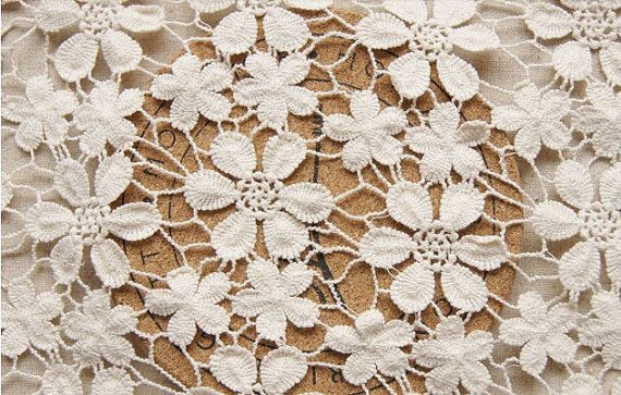 Lovely Ivory Chic Cotton Wedding Dress Lace Fabric Bridal Lace Crochet Material Of Superb 44 Ideas Crochet Material