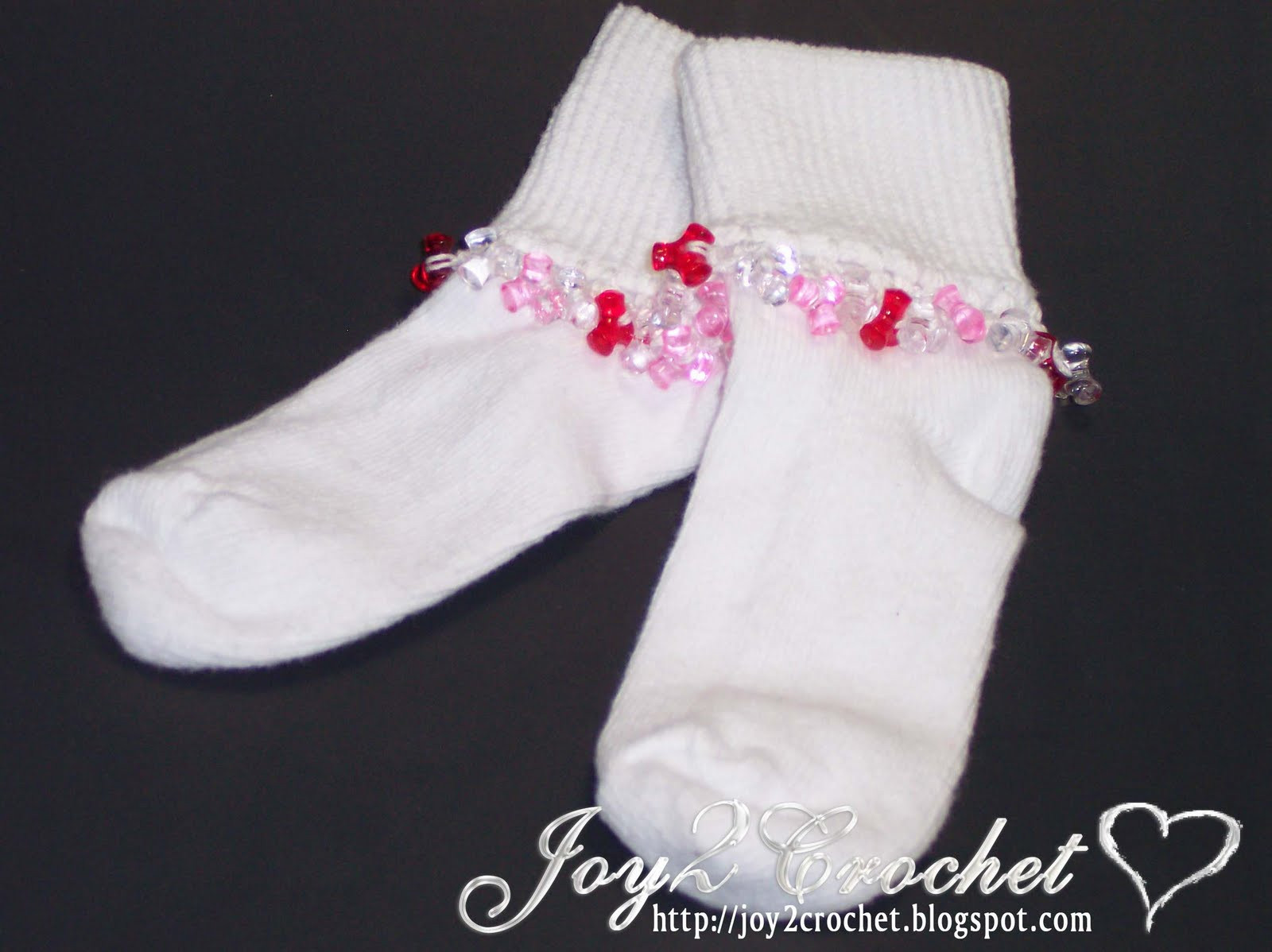 Lovely Joy 2 Crochet Crocheted Tri Bead Baby socks Crochet Baby socks Of New Berry Baby Booties Knitting Pattern Easy Crochet Baby socks