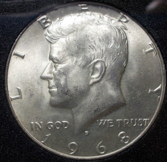 Lovely Kennedy Half Dollar 50 Cents 1968 Coin for Sale Kennedy 50 Cent Piece Value Of Great 41 Pics Kennedy 50 Cent Piece Value