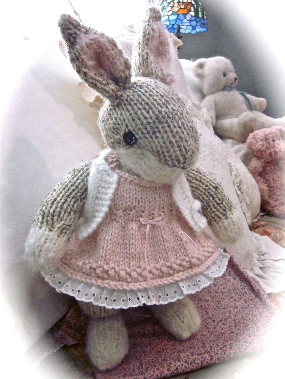 Lovely Knit Stuffed Animal Bunny Doll Hand Knit and Embroidered Knit Stuffed Animals Of Beautiful 47 Pics Knit Stuffed Animals