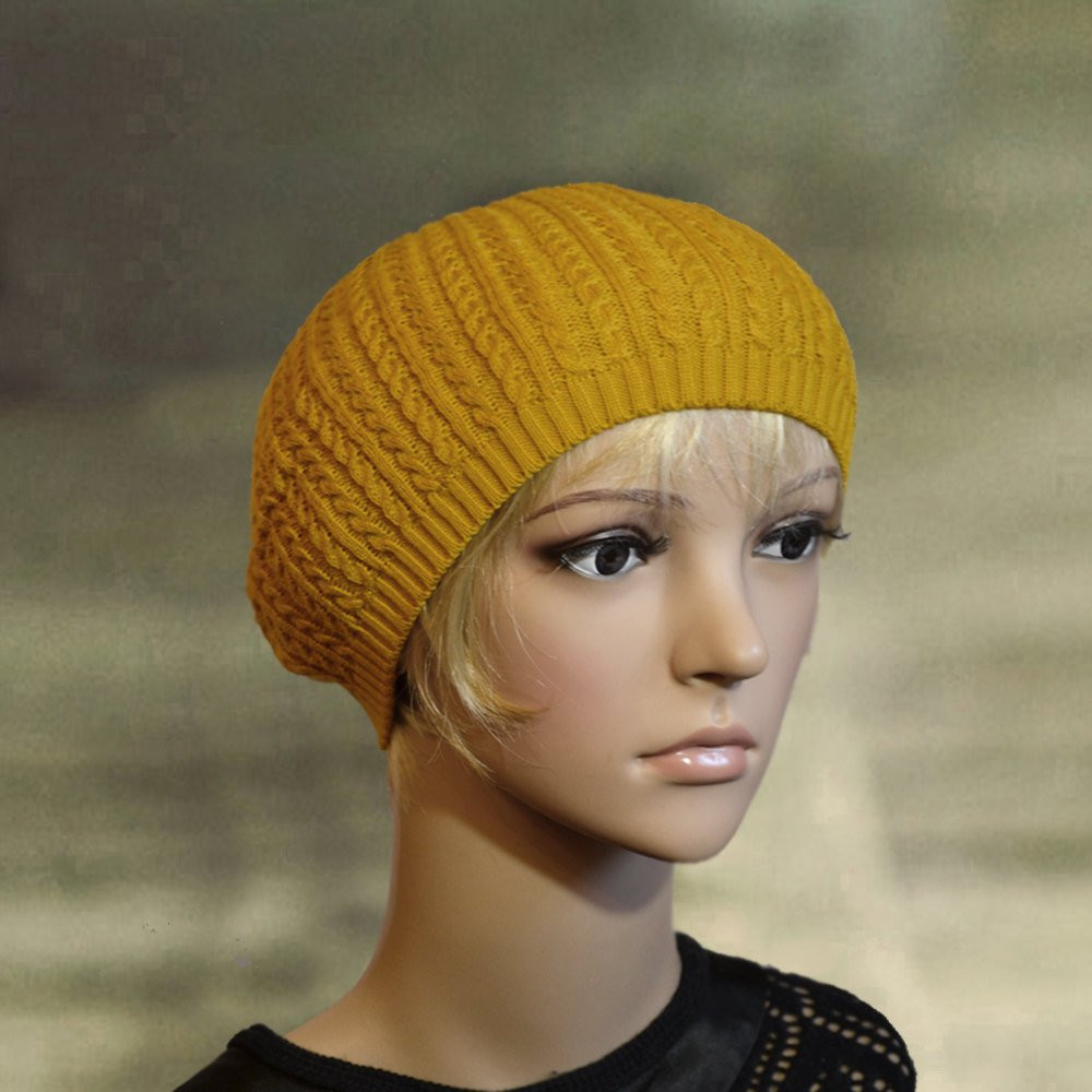 Lovely Knit Thin Beret Spring Knit Beret Knit Beanie Beret Knit Beret Of Beautiful 41 Models Knit Beret