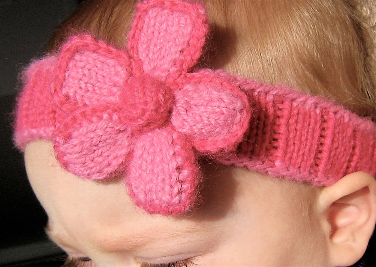 Lovely Knitted Headband with Flower Patterns Baby Headband Knitting Pattern Of New 47 Ideas Baby Headband Knitting Pattern