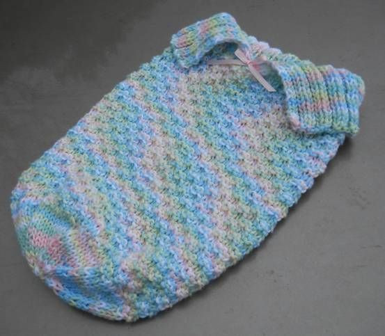 Lovely Knitting Baby Sleep Sack Pattern Knitted Baby Cocoon Of Marvelous 42 Photos Knitted Baby Cocoon