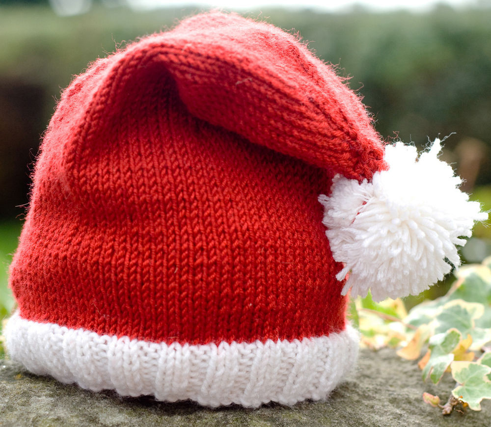 Lovely Knitting Pattern Diy Instructions Cute Baby Santa Hat Santa Hat Pattern Of Awesome This Chunky Knit Santa Hat Will Be the Coziest Thing You Santa Hat Pattern