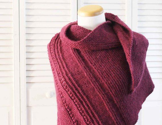 Lovely Knitting Pattern Shawl asymmetrical Scarf Burgundy asymmetrical Shawl Of Fresh 43 Images asymmetrical Shawl