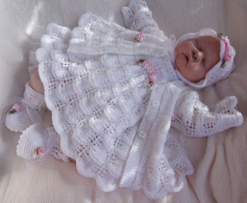 Lovely Knitting Pattern to Make Moondance Baby Doll Dress Set Baby Dress Knitting Pattern Of Amazing 40 Models Baby Dress Knitting Pattern