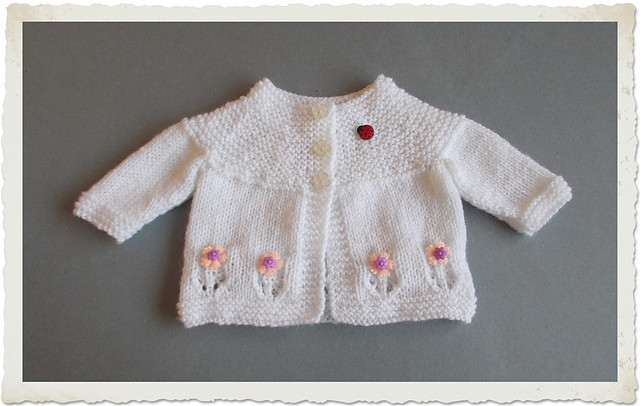 Lovely Knitting Patterns Galore Fleur Baby Cardigan Jacket Baby Sweater Knitting Pattern Of Beautiful 48 Pictures Baby Sweater Knitting Pattern