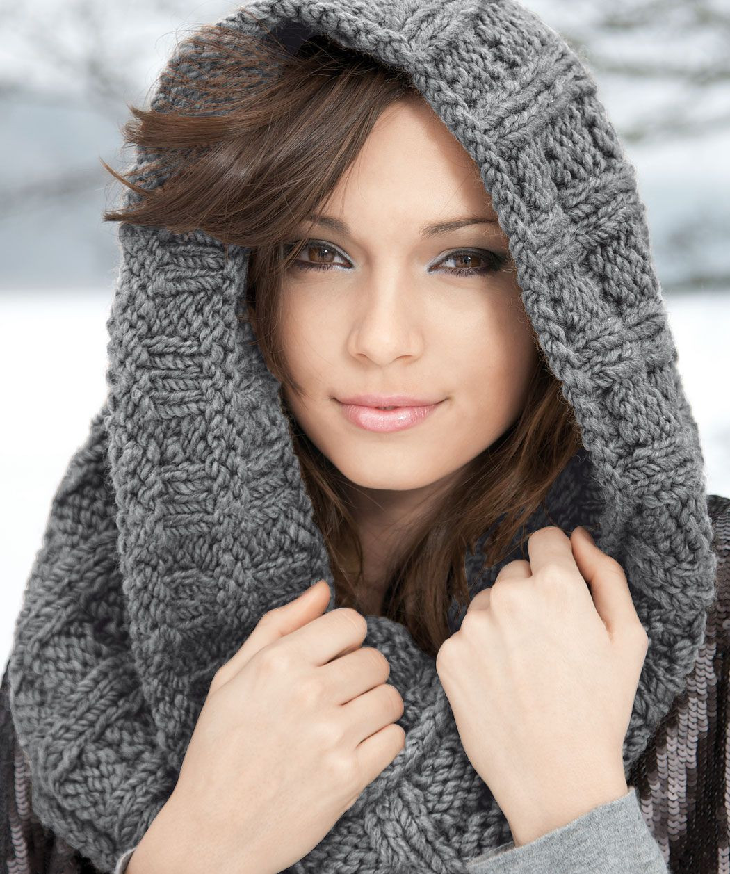 Lovely Knitting Patterns On Pinterest Knitted Cowl Of Brilliant 41 Models Knitted Cowl