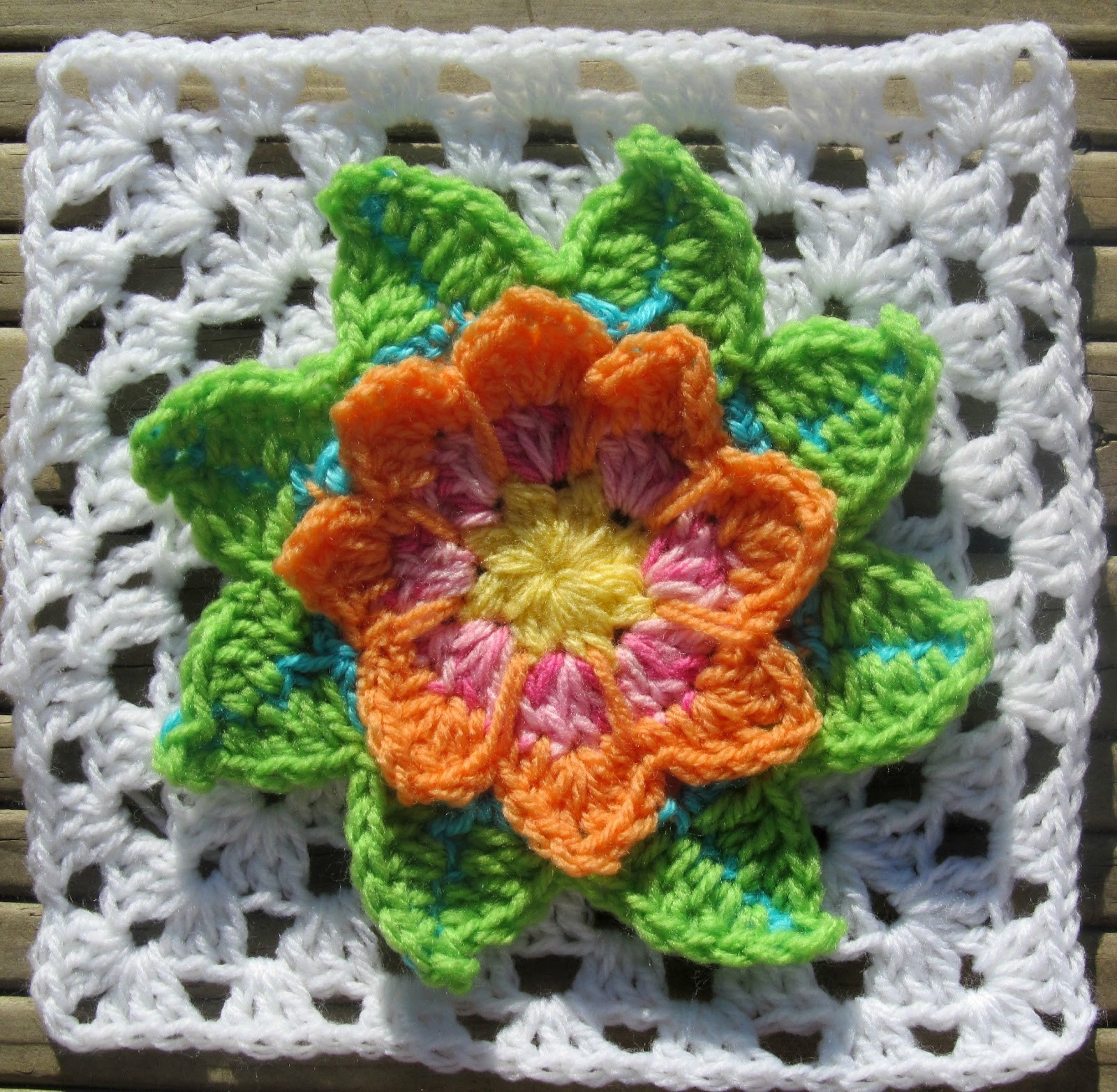 Lovely Knot Your Nana S Crochet Granny Square Cal Week 5 Crochet Flower Square Of Brilliant 47 Models Crochet Flower Square