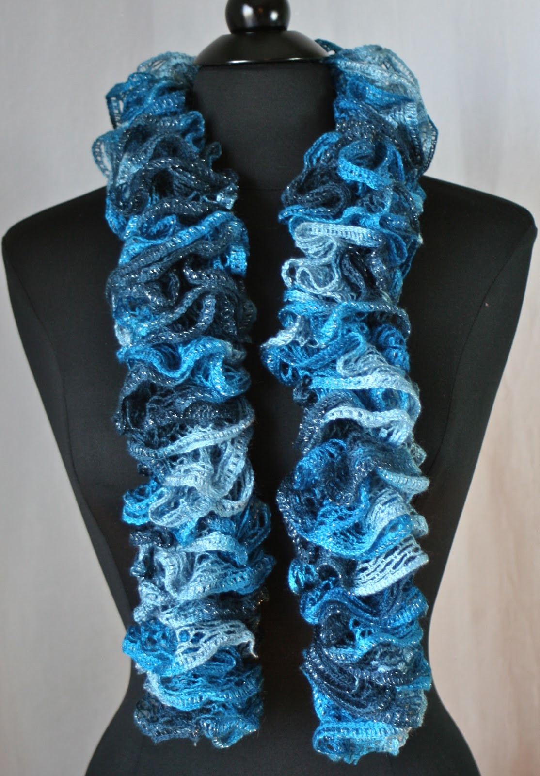 Lovely Knots N Knits Crocheted Ruffled Scarves Sashay Vs Ruffle Scarf Yarn Of Beautiful 47 Images Ruffle Scarf Yarn
