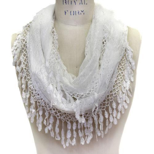 Lovely Lace Infinity Scarf Scarves & Wraps Lace Infinity Scarf Of Charming 45 Ideas Lace Infinity Scarf