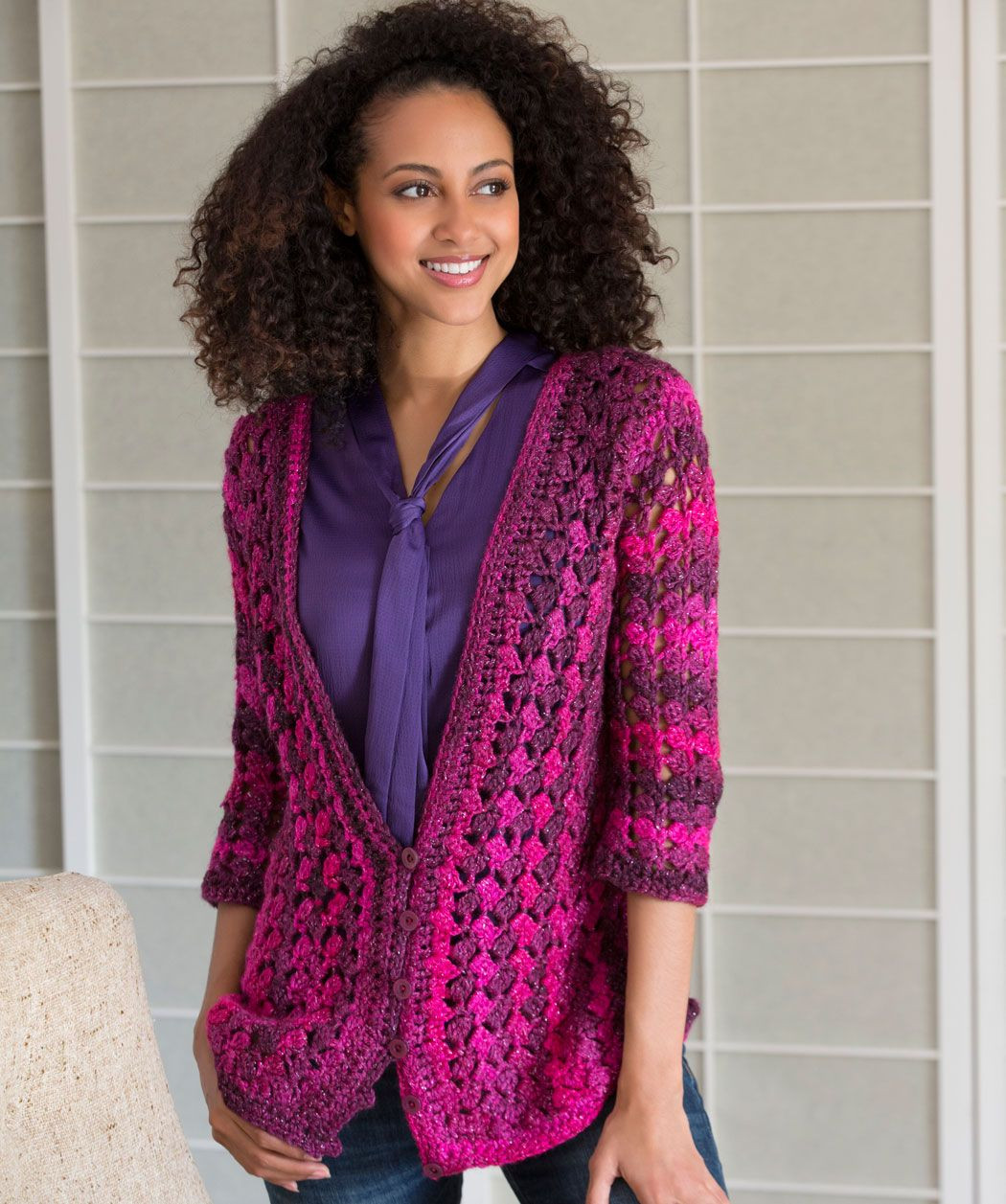 Lovely Lacy Cardigan Crochet Pattern Red Heart Yarn Free Patterns Of Superb 44 Pics Red Heart Yarn Free Patterns
