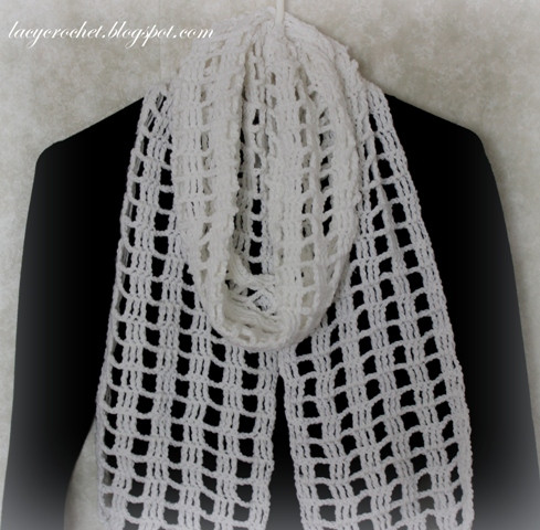 Lovely Lacy Crochet Quick and Easy Crochet Scarf My Free Pattern Quick and Easy Crochet Patterns for Beginners Of Awesome 48 Photos Quick and Easy Crochet Patterns for Beginners