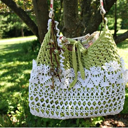 Lovely Lacy Crochet Shoulder Bag with Description Of How It Was Crochet Shoulder Bag Of Fresh 47 Pics Crochet Shoulder Bag