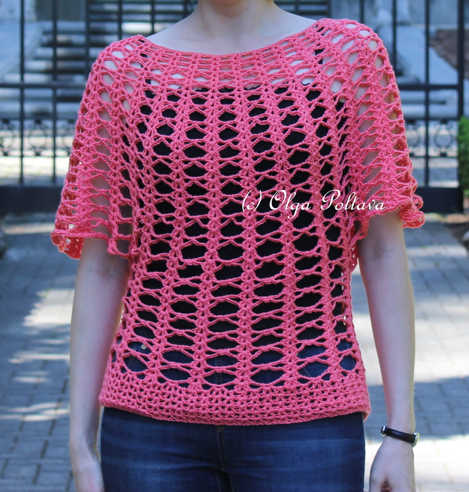 Lovely Lacy Crochet Summer Lace top Cotton Fair by Premier Yarns Crochet Lace top Pattern Of Incredible 45 Models Crochet Lace top Pattern