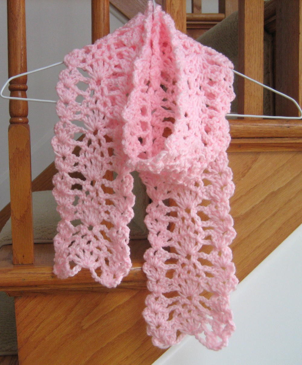 Lovely Lacy Pineapple Crochet Scarf Crochet Scarves Of Amazing 43 Photos Crochet Scarves