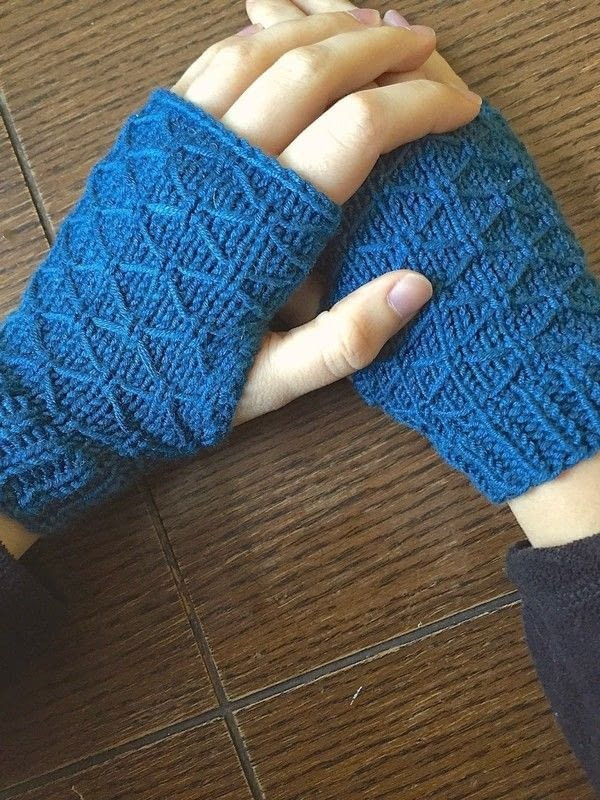 Lovely Lattice Knit Wrist Warmers · How to Stitch A Knit Knit Arm Warmers Of Brilliant 41 Images Knit Arm Warmers