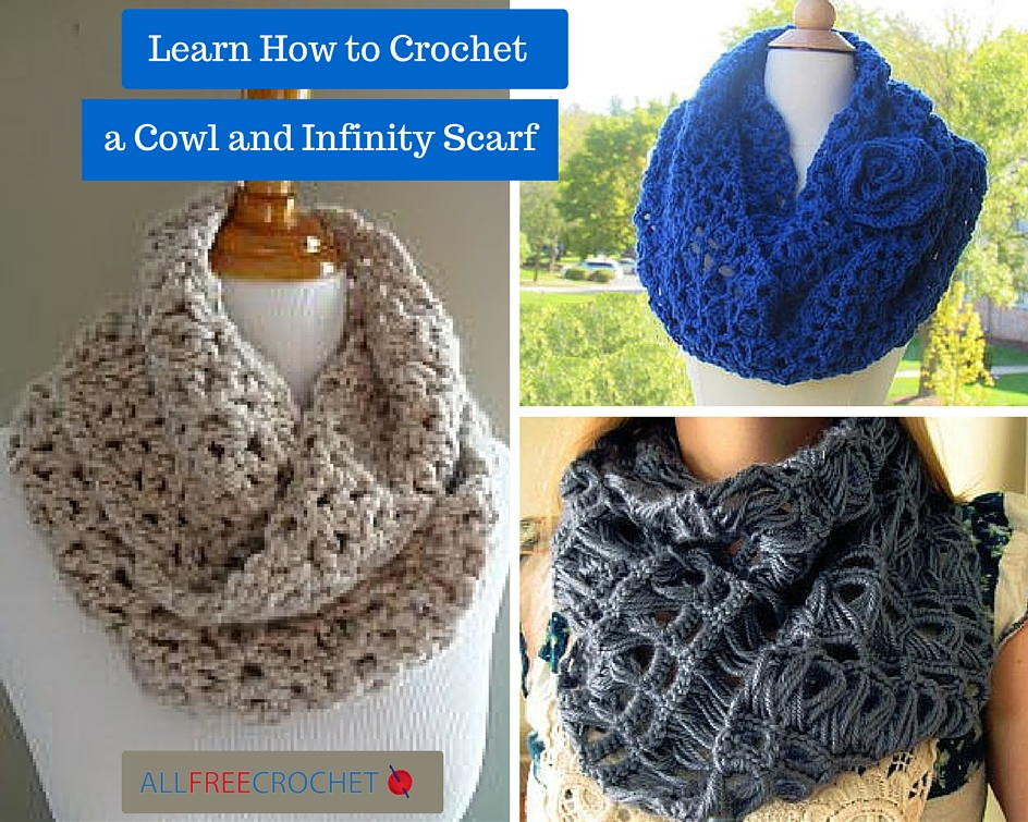 Lovely Learn How to Crochet A Cowl and Infinity Scarf All Crochet Of Amazing 44 Ideas All Crochet
