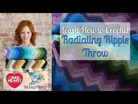 Lovely Learn How to Crochet Radiating Ripple Throw Learn to Crochet Video Of Perfect 48 Ideas Learn to Crochet Video