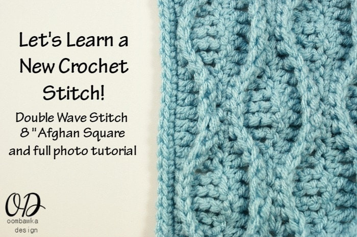 Lovely Let S Learn A New Crochet Stitch Double Wave • Oombawka Wave Crochet Pattern Of Unique 40 Models Wave Crochet Pattern