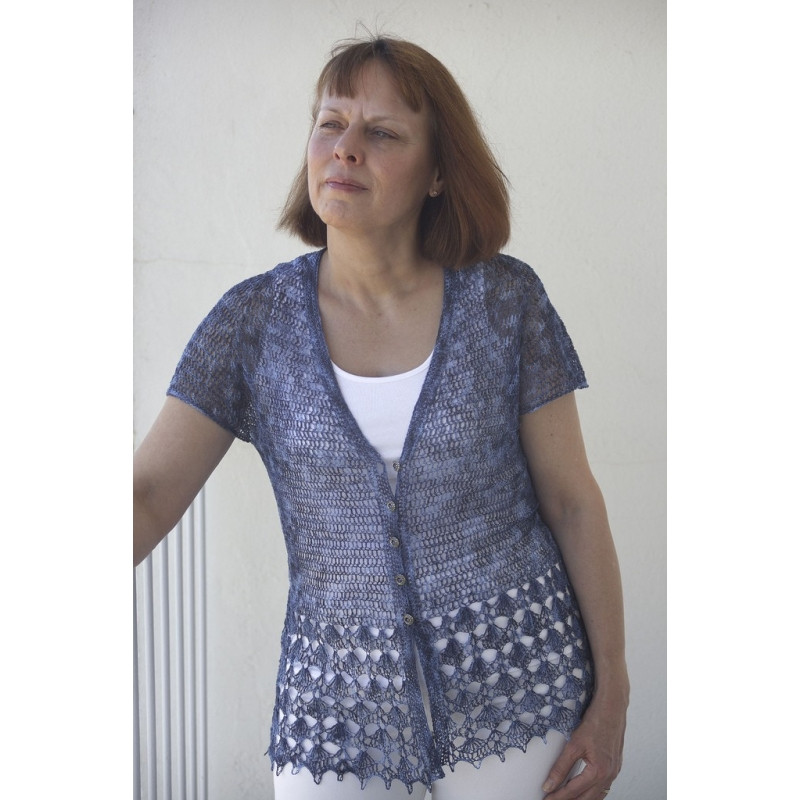 Lovely Linen Lace Crochet Cardigan Annette Petavy Design Crochet Lace Cardigan Of Great 45 Images Crochet Lace Cardigan