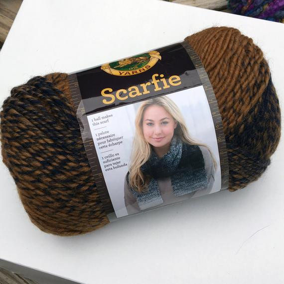 Lovely Lion Brand Scarfie Yarn Color 203 Ochre Navy Tan and Blue Lion Brand Scarfie Of Lovely 48 Photos Lion Brand Scarfie