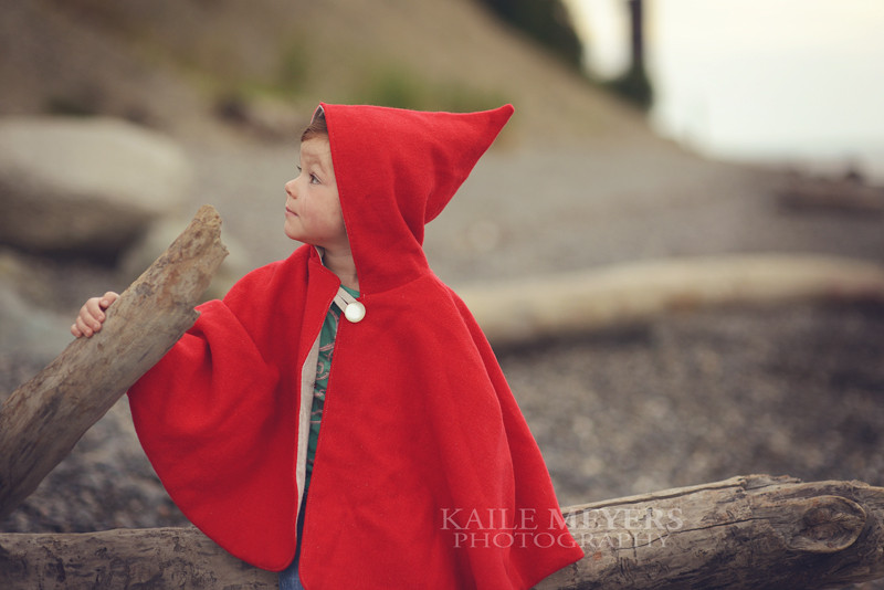 Little Red Riding Hood Cape PDF Pattern