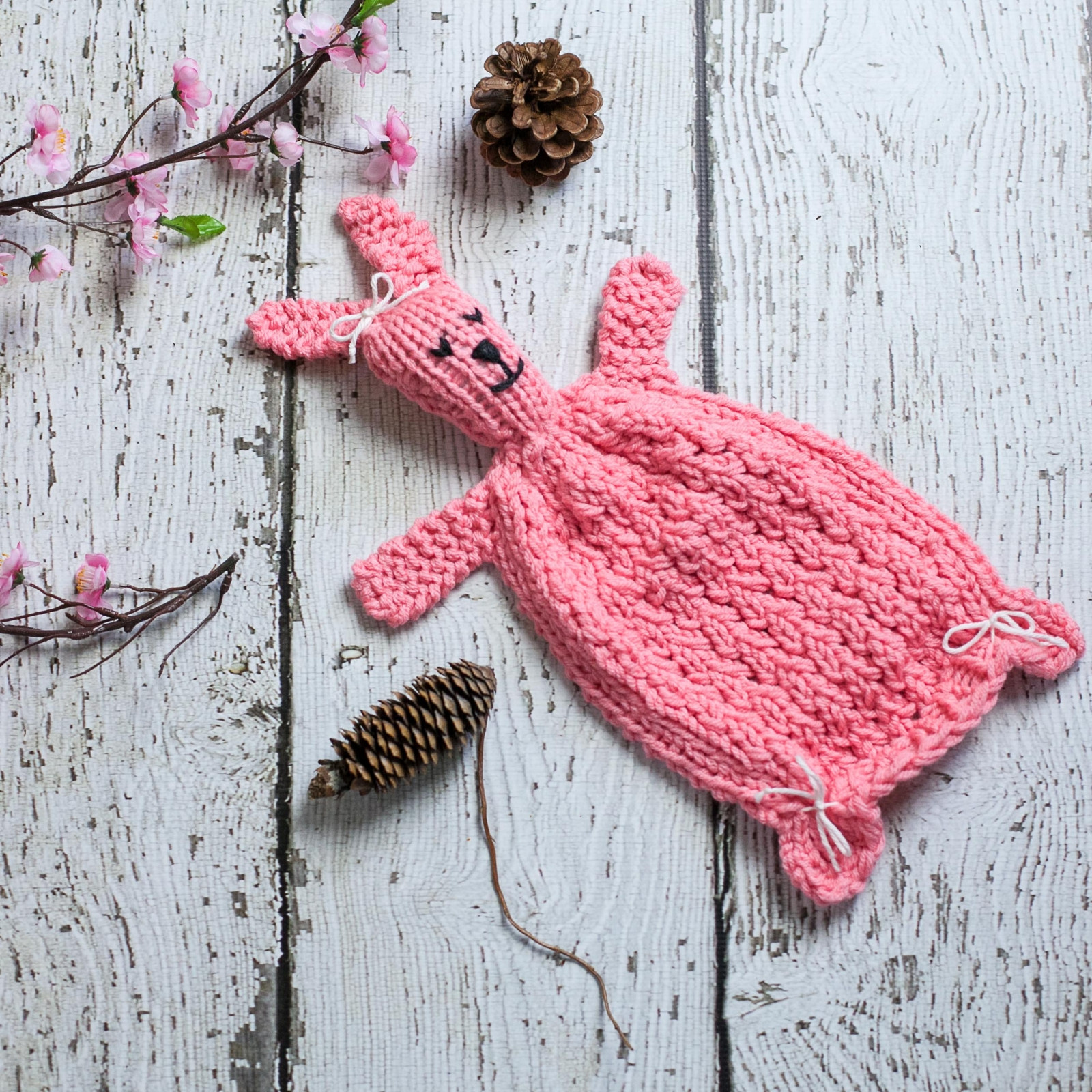 Lovely Loom Knit Bunny Lovey Pattern Bunny Blanket toy Pdf Knitting Sites Of Great 40 Ideas Knitting Sites