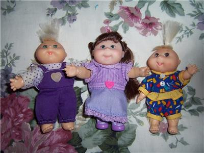 Lovely Lot Cabbage Patch Kids Mini Baby Dolls 1995 Xavier Roberts Small Cabbage Patch Dolls Of Unique 47 Pictures Small Cabbage Patch Dolls