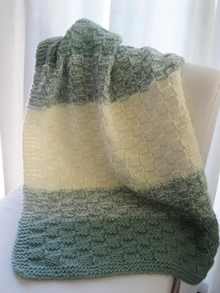 Lovely Luluknits Basket Weave Baby Blanket Basket Weave Blanket Of Amazing 45 Models Basket Weave Blanket