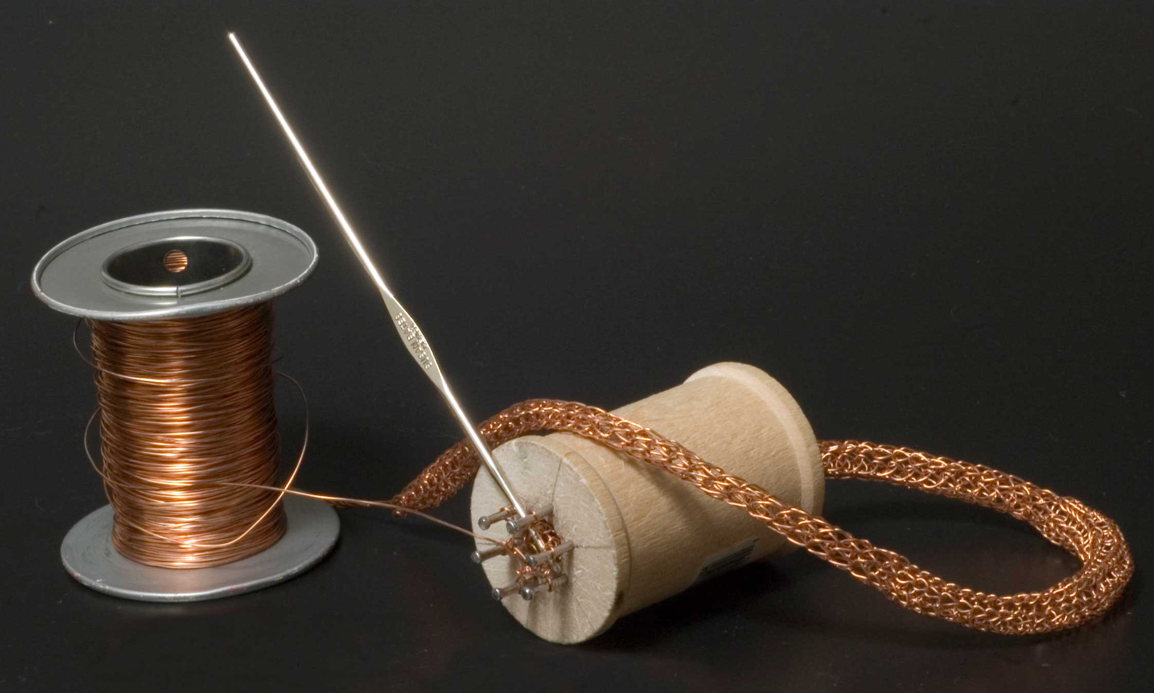 Make a Wire Knitting Spool