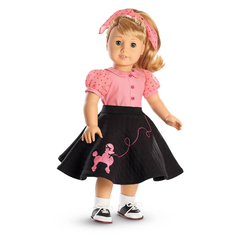 Lovely Maryellen S Poodle Skirt Outfit American Girl Doll Skirts Of Incredible 50 Ideas American Girl Doll Skirts