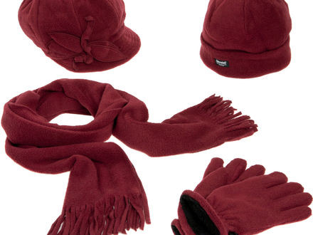 Lovely Mayoral Girls Red Knitted Pompom Hat Scarf Gloves Girls Children's Scarves Of New 48 Pictures Children's Scarves