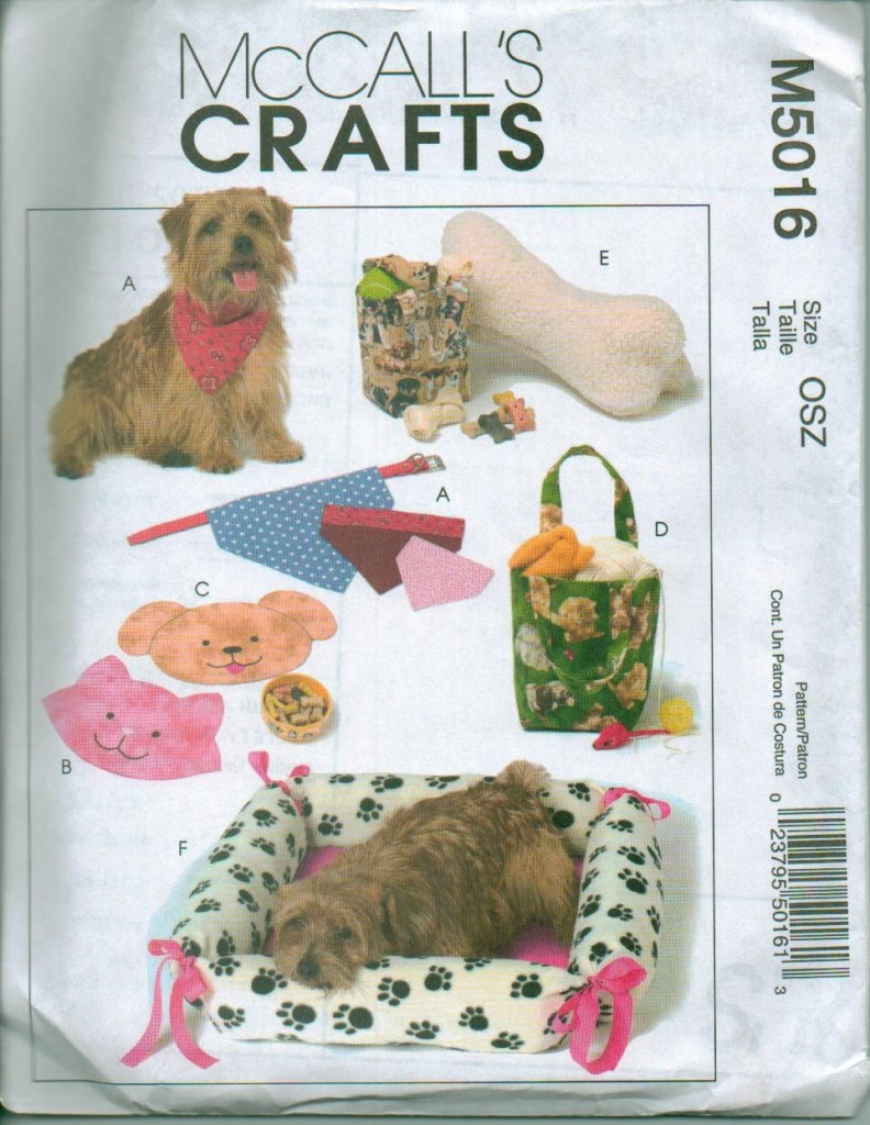 Lovely Mccalls Craft Pet Dog Cat Bed Clothes Sewing Pattern Dog Sewing Patterns Of Amazing 40 Images Dog Sewing Patterns