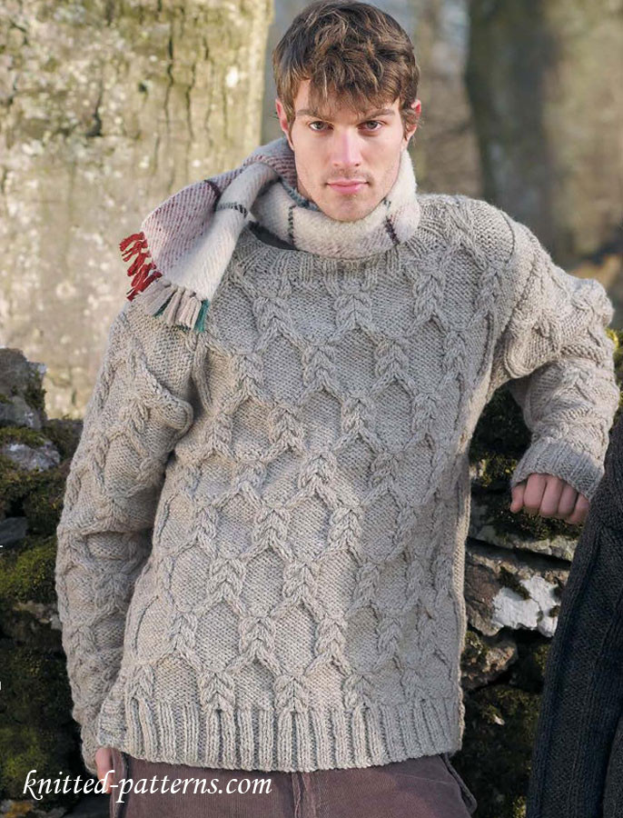 Lovely Men S Cable Sweater Knitting Pattern Cable Knit Sweater Pattern Of Elegant top 5 Free Red Heart Patterns Cable Knit Sweater Pattern