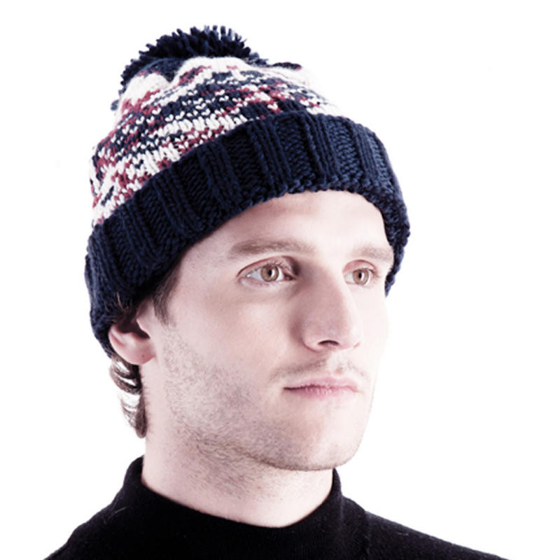 rjmgl363 mens chunky bobble hat