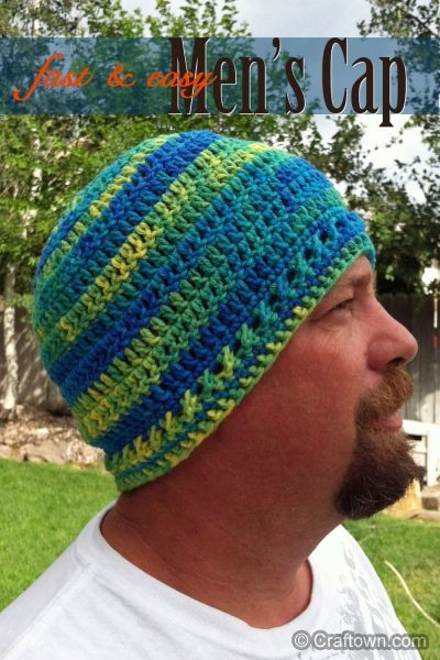 Lovely Men S Fast & Easy Cap Crochet Patterns Simple Crochet Hat Patterns Of Attractive 42 Photos Simple Crochet Hat Patterns