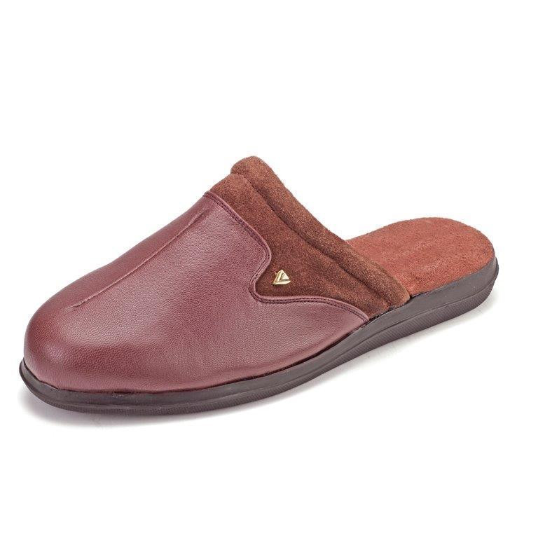 Lovely Mens Chatsworth Slip On Mule Leather Slippers Leather Leather sole Slippers Of Fresh 46 Models Leather sole Slippers