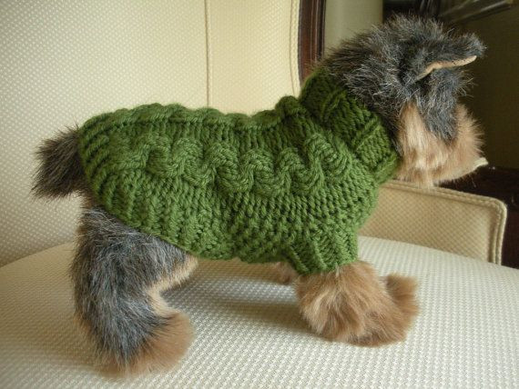 Lovely Merino Cashmere Cable Knit Dog Sweater Olive Green Easy Knit Dog Sweater Of Charming 49 Ideas Easy Knit Dog Sweater
