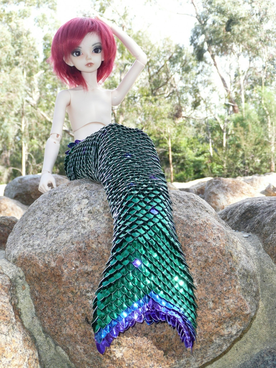 Lovely Mermaid Tail for 42cm Msd Ball Joint Doll Dolls and Pets Mermaid Tails for Dolls Of Amazing 41 Photos Mermaid Tails for Dolls