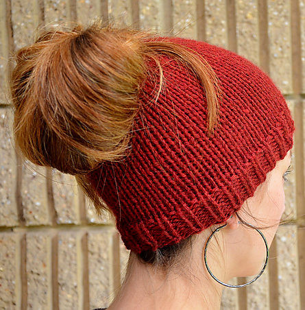 Lovely Messy Bun and Ponytail Hat Knitting Patterns Knit Ponytail Hat Pattern Of Lovely 44 Ideas Knit Ponytail Hat Pattern