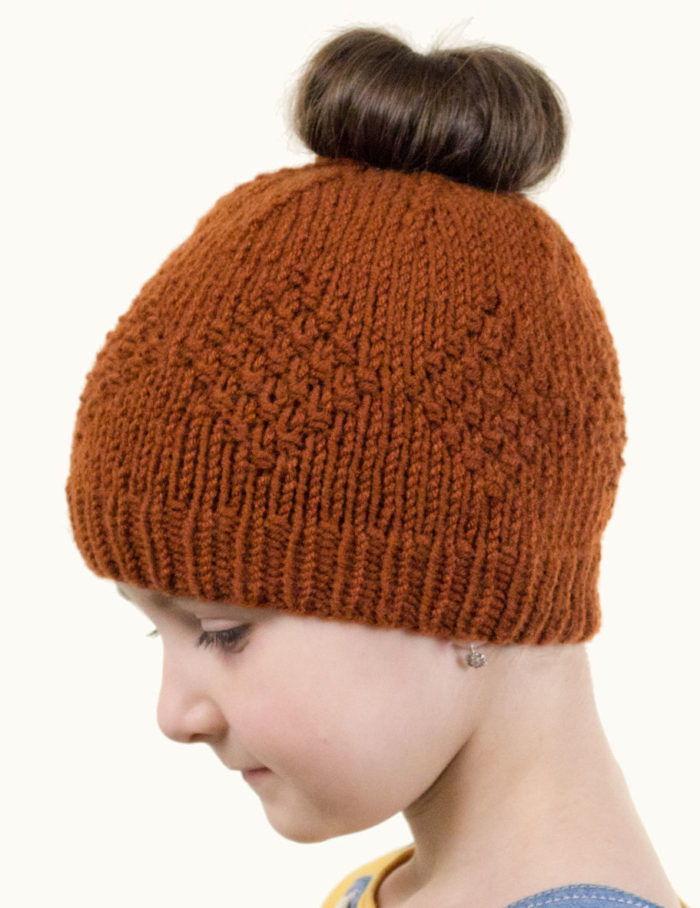 Lovely Messy Bun and Ponytail Hat Knitting Patterns Ponytail Knit Hat Of Top 46 Pictures Ponytail Knit Hat