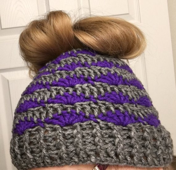 Lovely Messy Bun Beanie Shells Crochet Pattern Bun Beanie Crochet Pattern Of Charming 42 Pics Bun Beanie Crochet Pattern