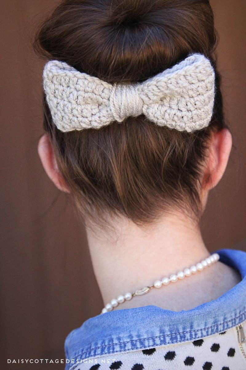 Lovely Messy Bun Free Crochet Pattern Daisy Cottage Designs Crochet Messy Bun Of Contemporary 41 Images Crochet Messy Bun