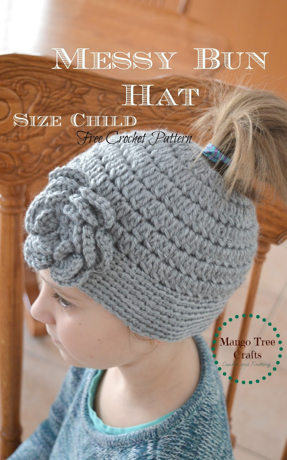 Lovely Messy Bun Hat Free Crochet Pattern In 3 Sizes Bun Beanie Crochet Pattern Of Charming 42 Pics Bun Beanie Crochet Pattern