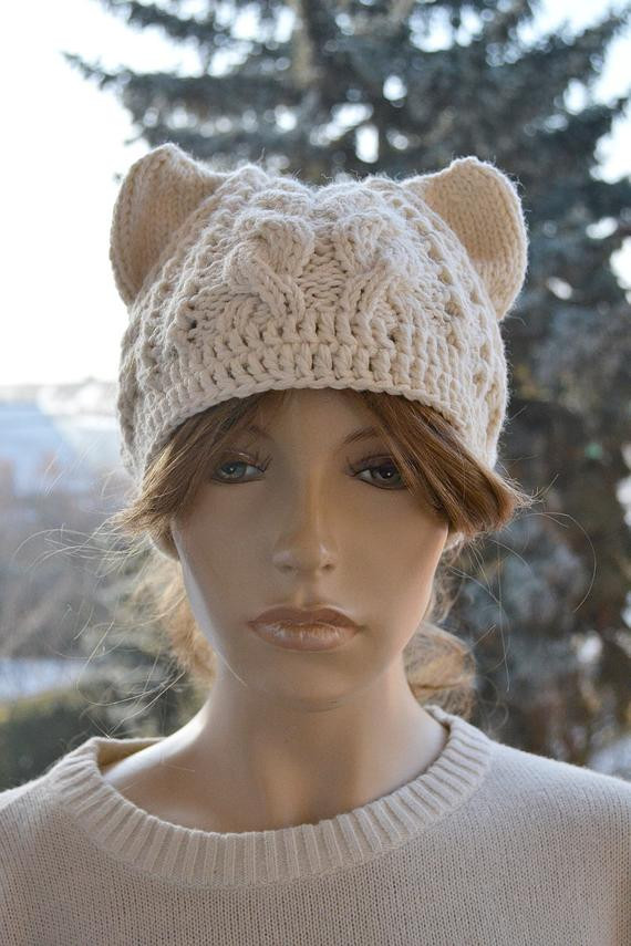 Lovely Messy Bun Hatcap Beanie Crocheted Ponytail Hole Hat by Beanie with Hole for Bun Of Great 40 Pics Beanie with Hole for Bun