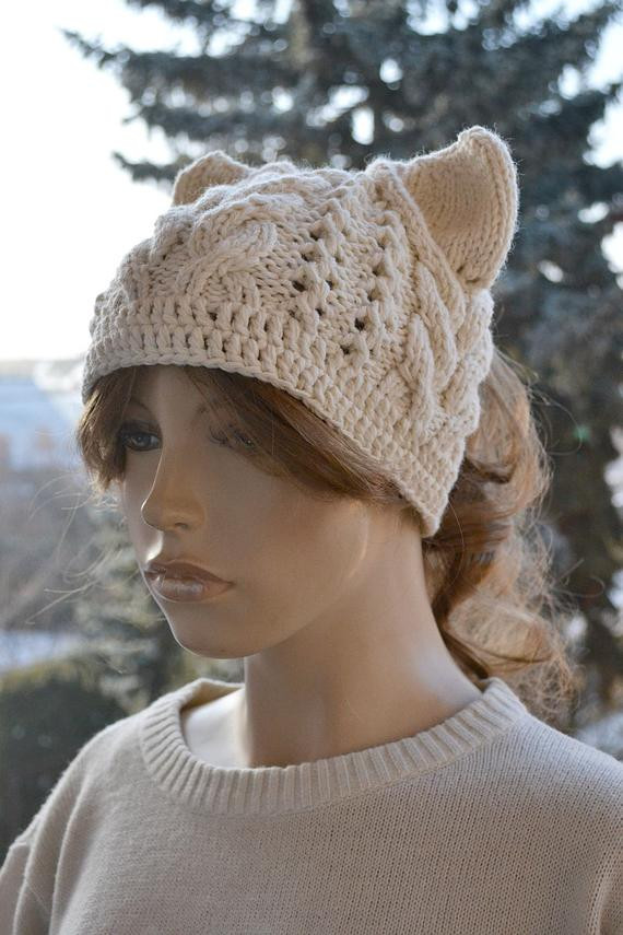 Lovely Messy Bun Hatcap Beanie Crocheted Ponytail Hole Hat Lovely Beanie with Bun Hole Of Amazing 46 Photos Beanie with Bun Hole